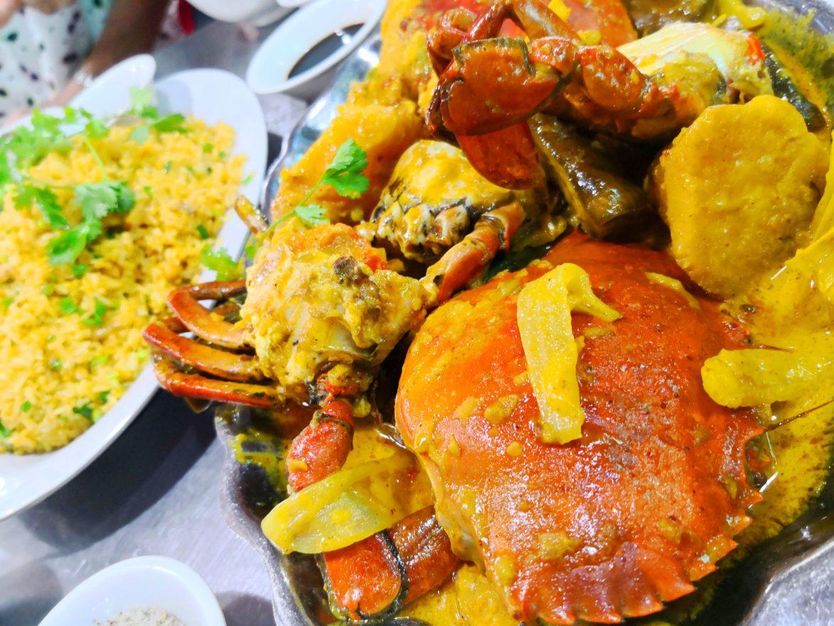Phong Cua カレー味のカニ