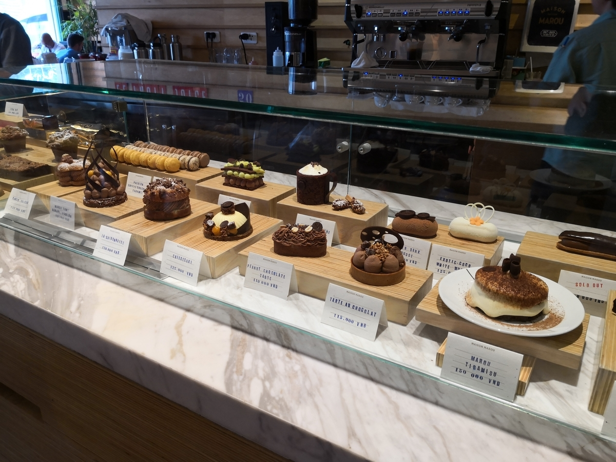 Maison Marou ケーキ