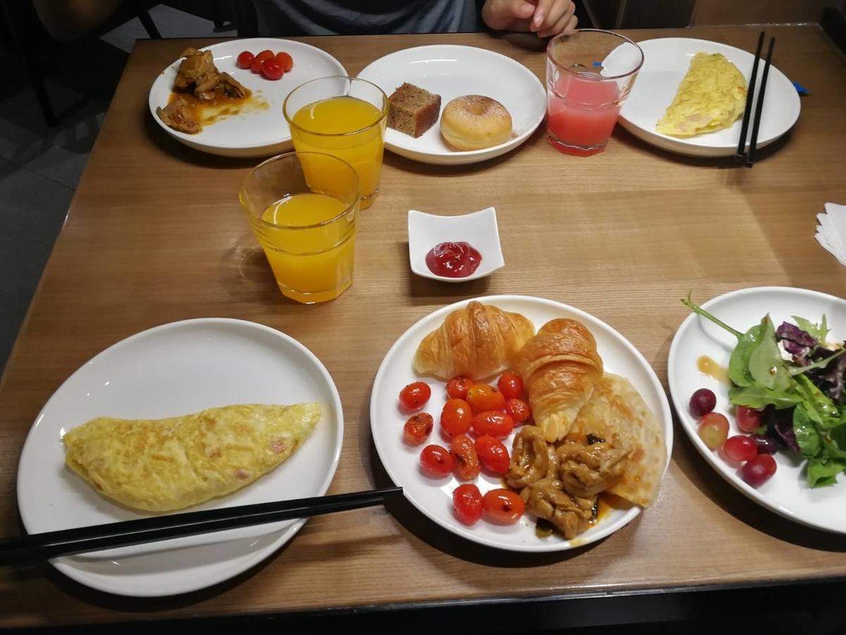 プラザプレミアムラウンジKLIA2 朝食