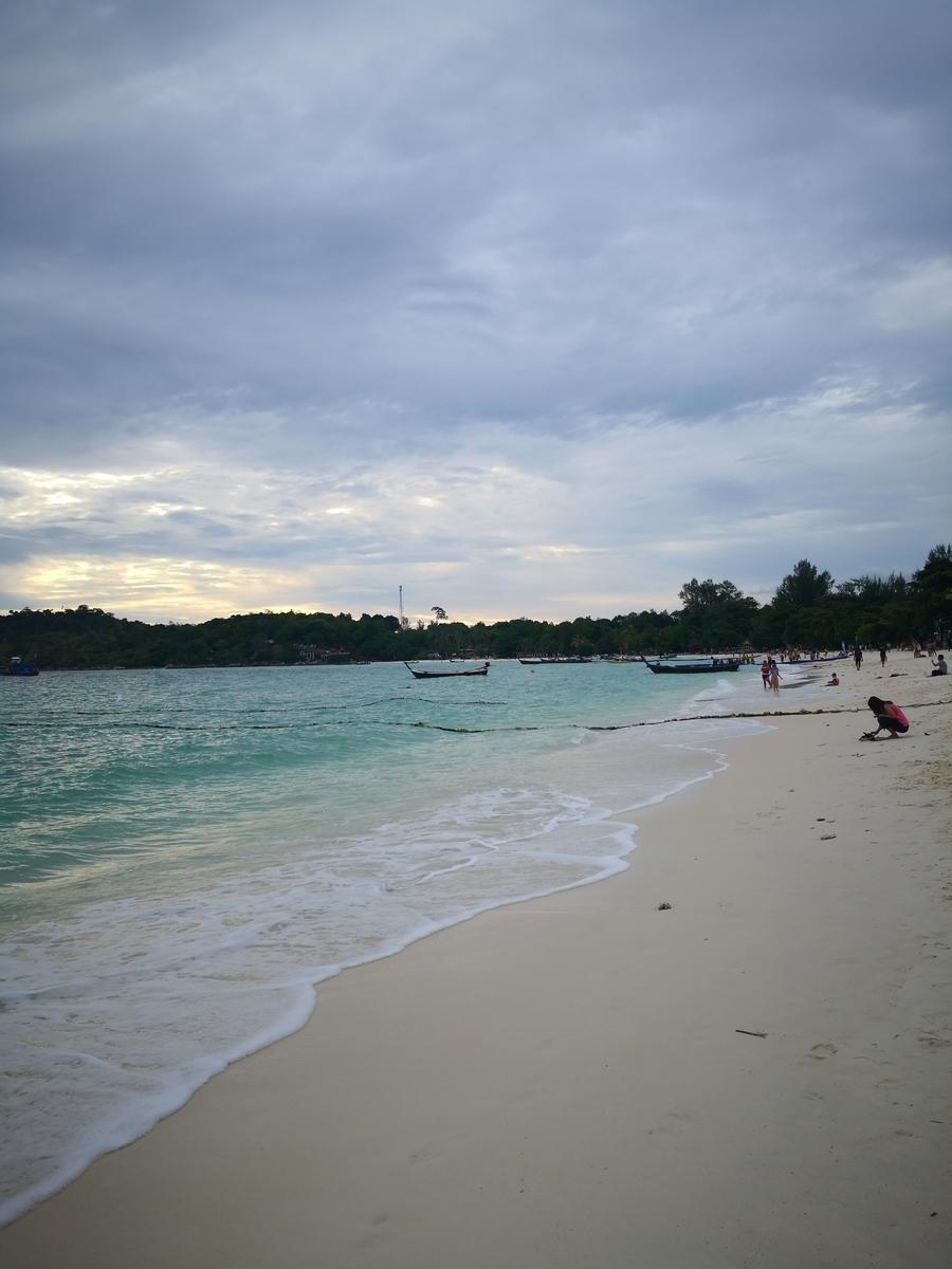 パタヤビーチの様子