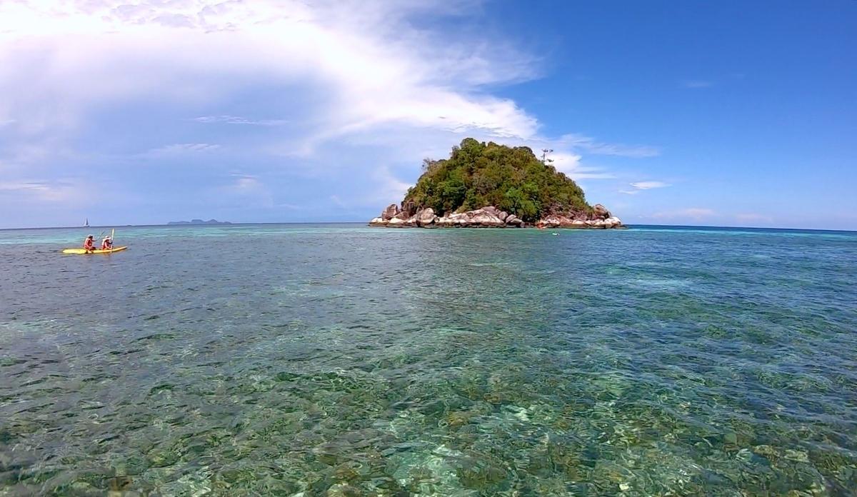 島からのKOH USENの様子