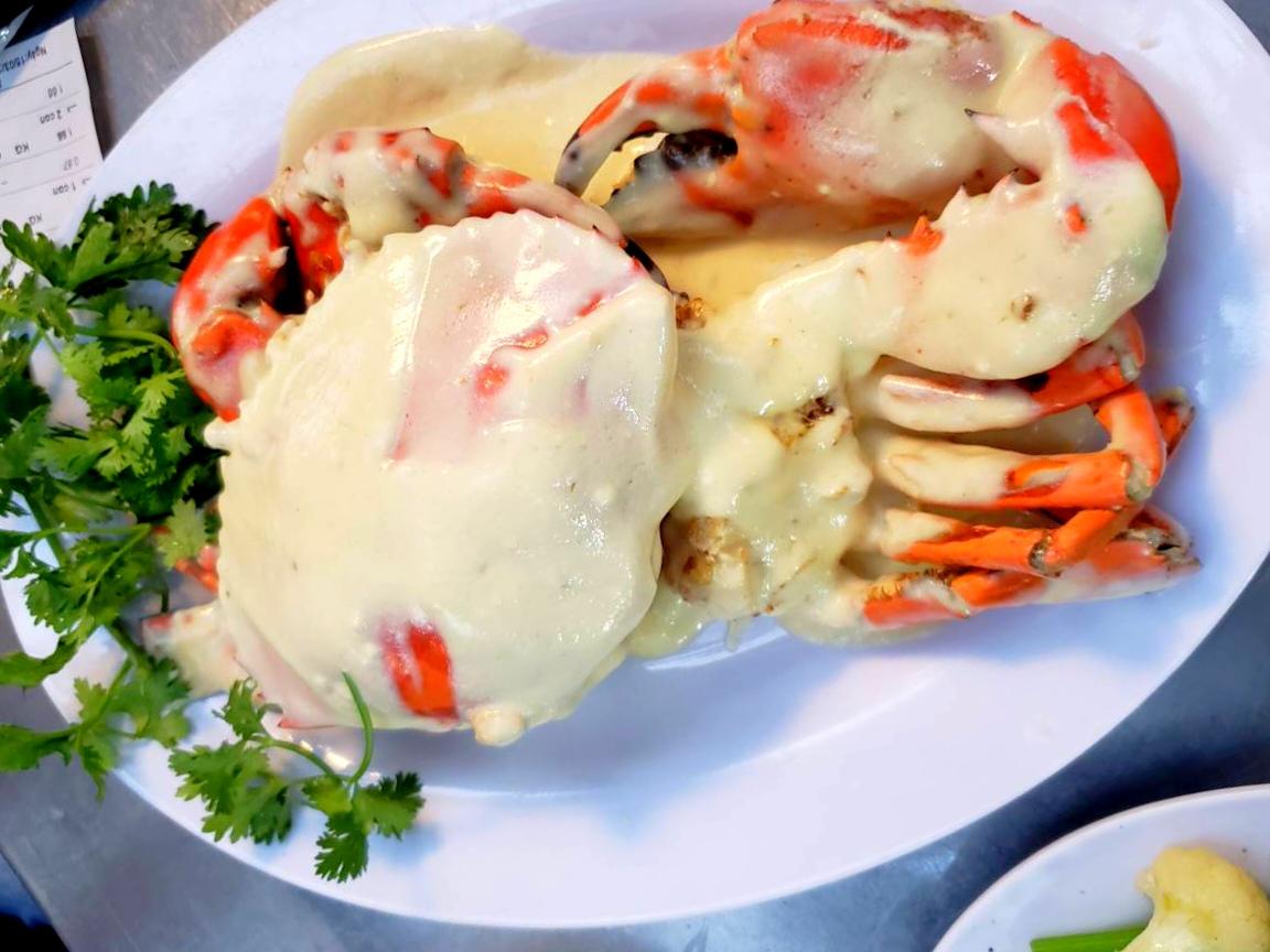 Crab with Malaysia sause