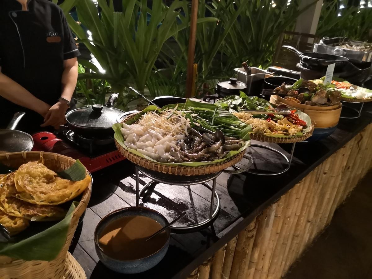 Mia Resort Nha Trang ビュッフェ