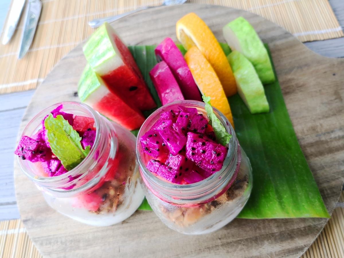 Mia Resort Nha Trang 朝食フルーツ