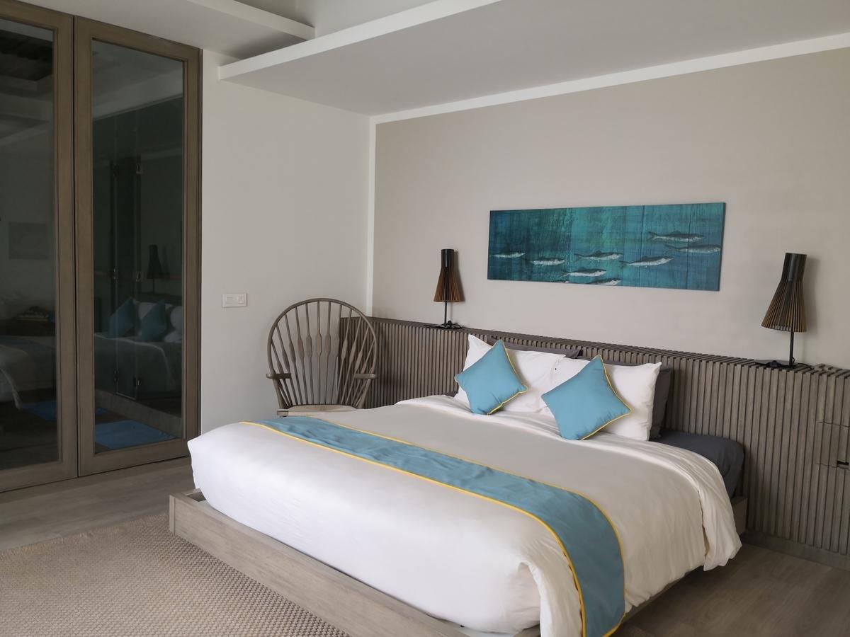 Mia Resort Nha Trang 5 bedroom villa マスターベッドルーム