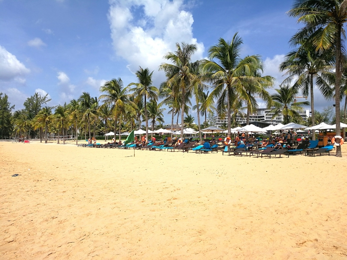 Novotel Phu Quoc Resort Hotel beach