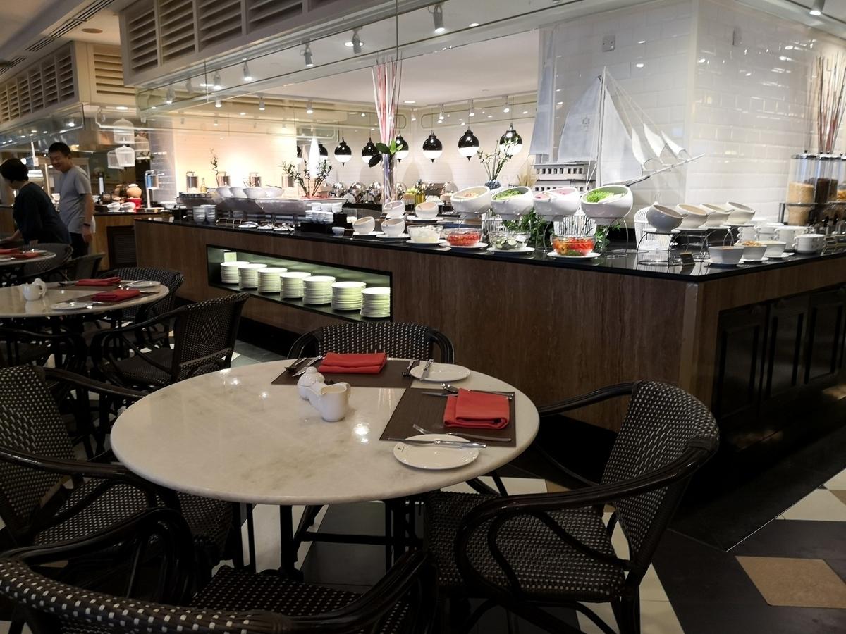 EASTERN & ORIENTAL HOTEL Gフロアのレストラン