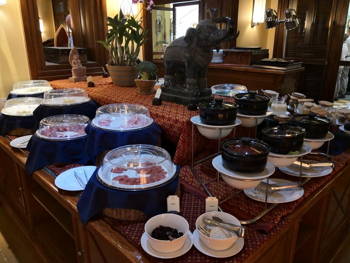 ビクトリアアンコールリゾートスパ 朝食