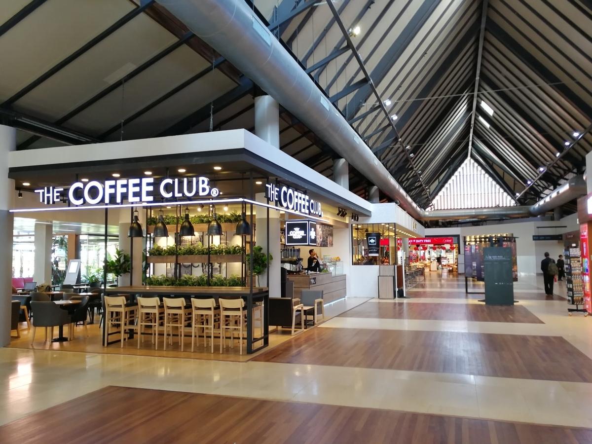 シェムリアップ空港 内部 コーヒーショップ