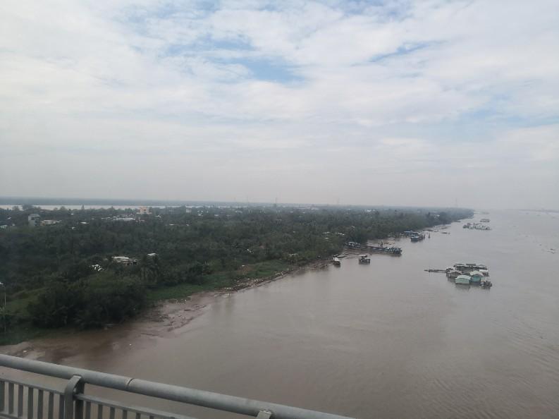 メコンデルタツアー ミトー 川の様子