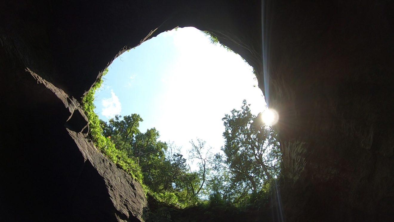 堂ヶ島クルーズ 洞窟の様子