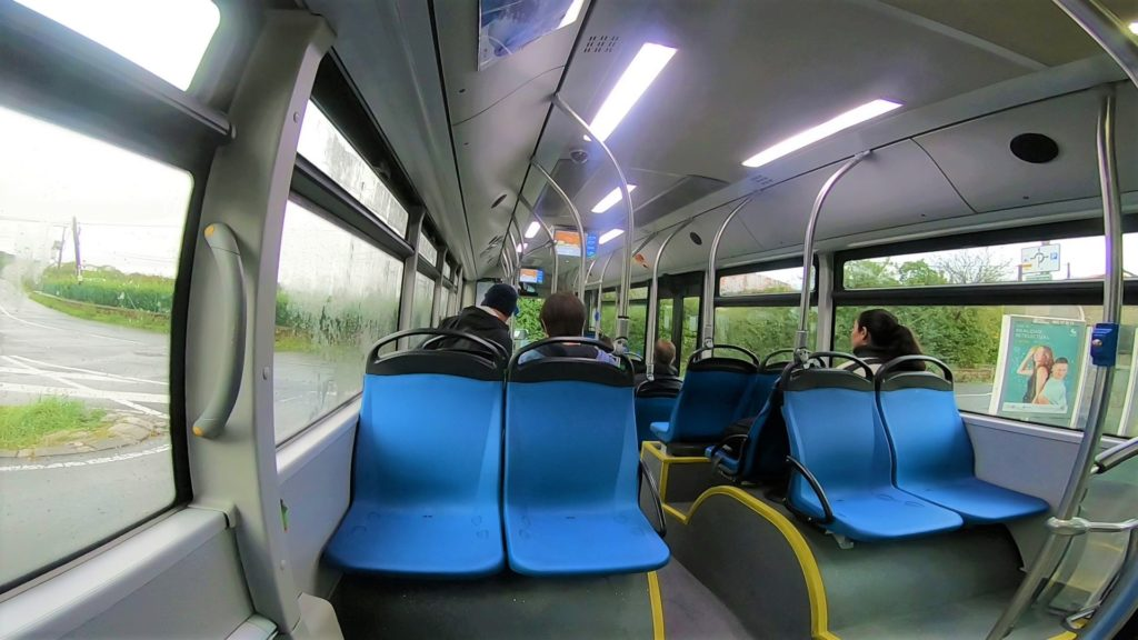サンセバスチャン バス