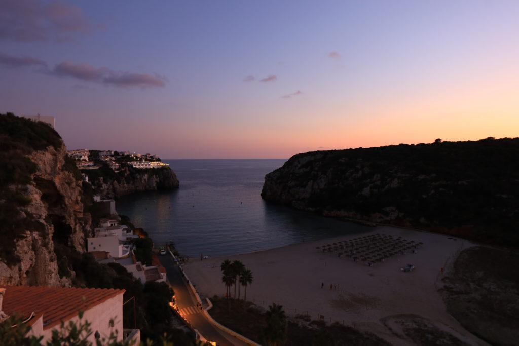 Hotel Playa Azul 部屋からの風景