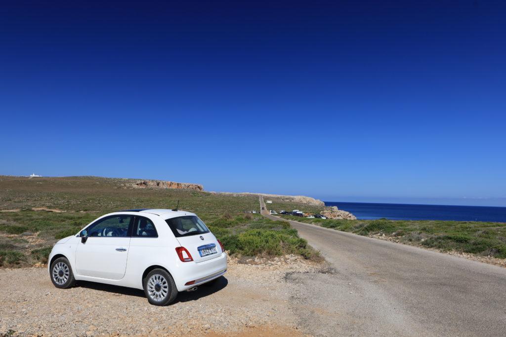 Cape Cavalleria Lighthouse 付近の風景
