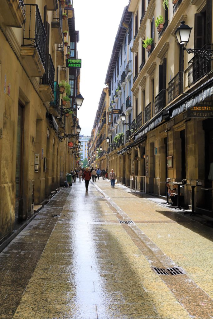 サンセバスチャン 旧市街