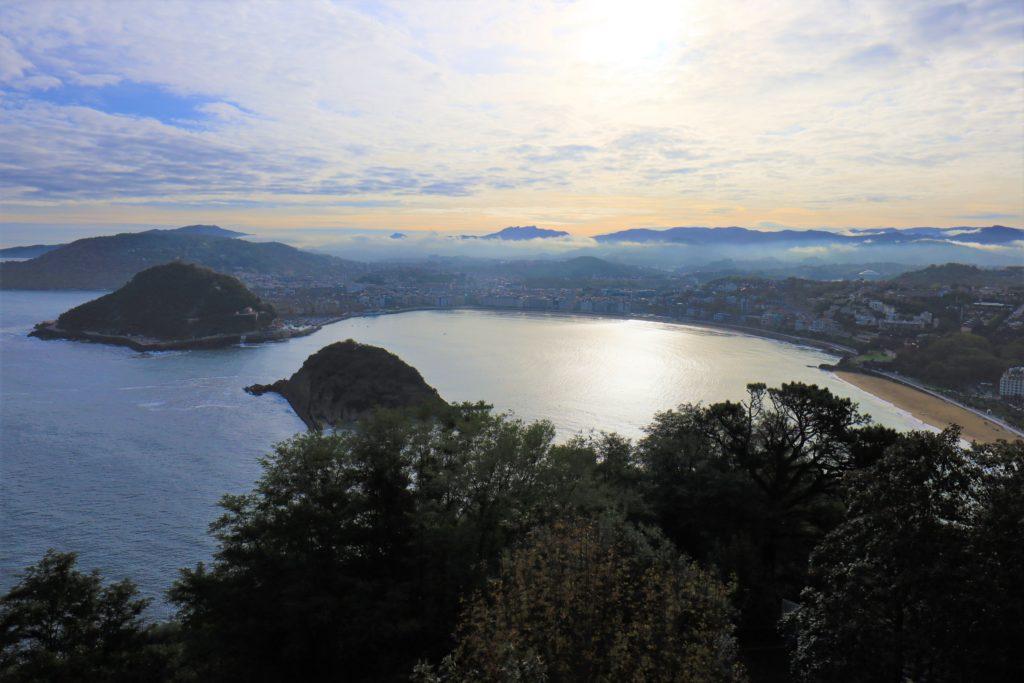 サンセバスチャン 高台からの風景