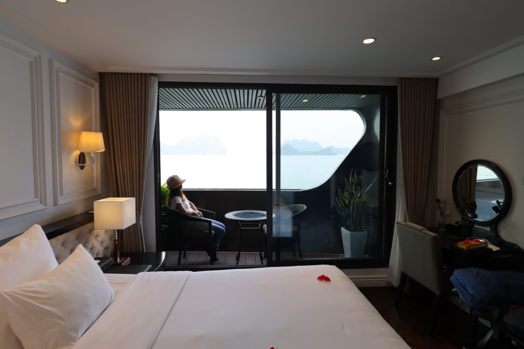 Junior Suites with private balcony
