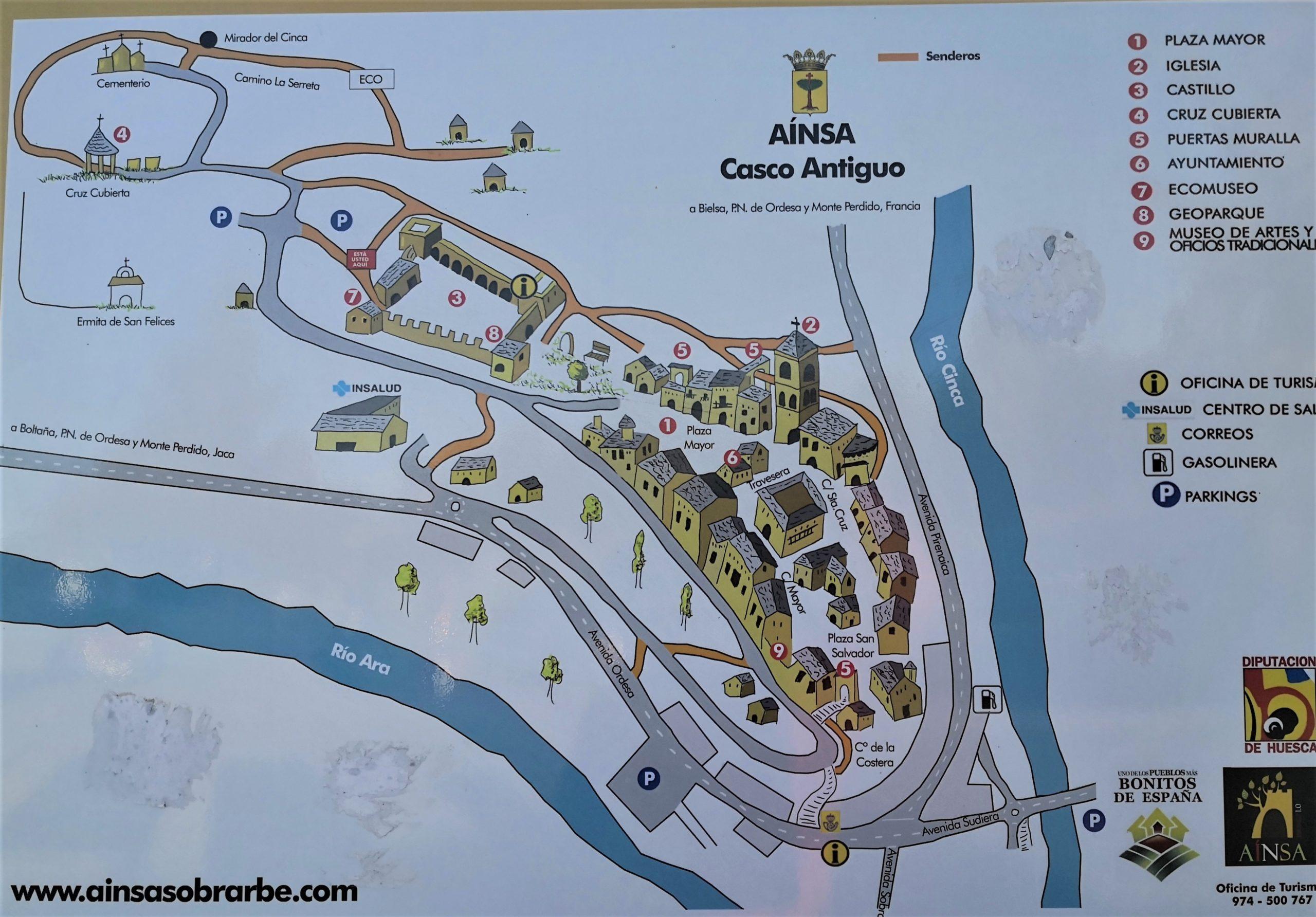 アインサ 町全体図