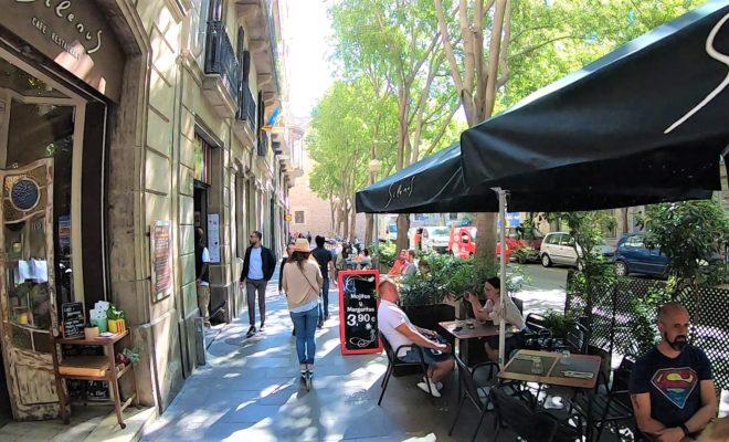 バルセロナ キックボード